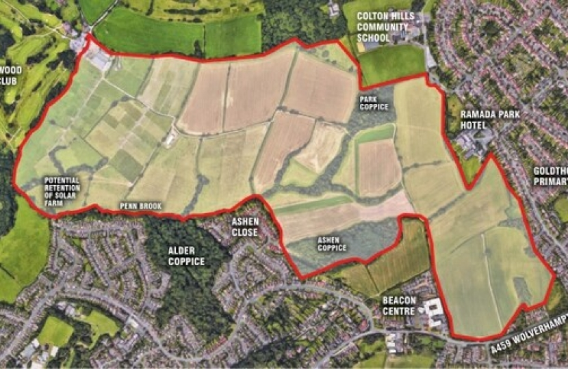 Fight plans for 1,300 homes on 284 acres of greenbelt land in Wolverhampton
