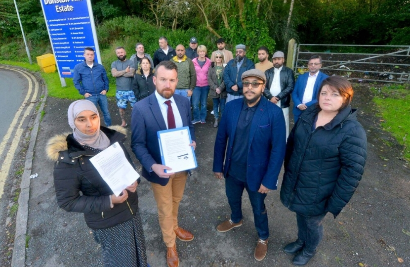 Unwanted traveller camp plans for Wolverhampton